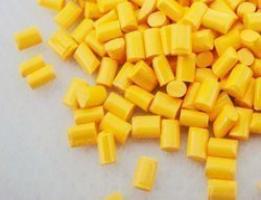 پلی اتیلن گرید PE100 زرد رنگ