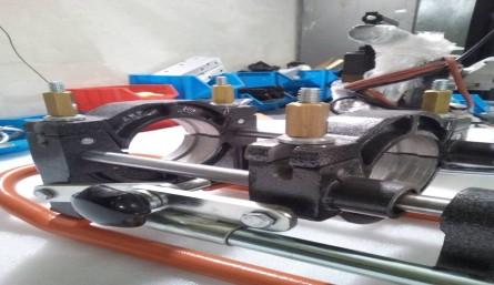 دستگاه جوش لب به لب دستی(منوآل)-دستگاه جوش لوله های  پلی اتیلن